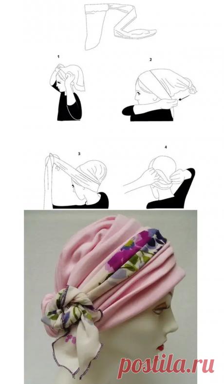 Как сшить красивый головной убор своими руками - Сделай сам - медиаплатформа МирТесен