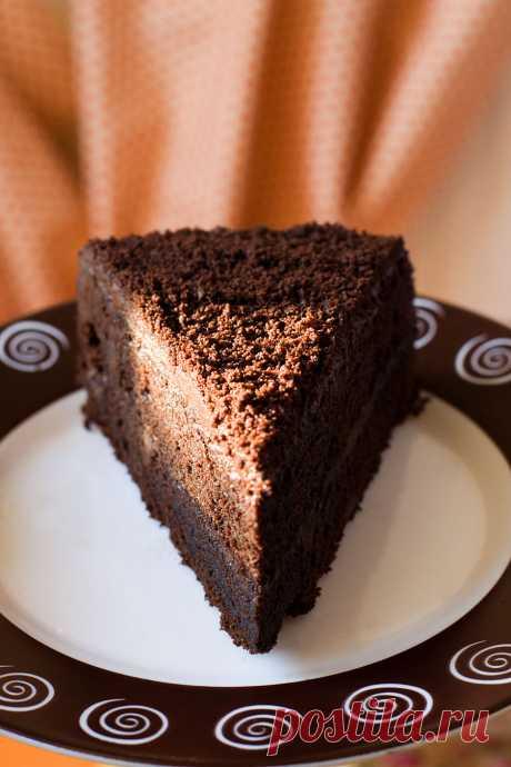 Старомодный шоколадный торт (П. Г. Вудхаус. «Дева в беде») | Еда в литературе