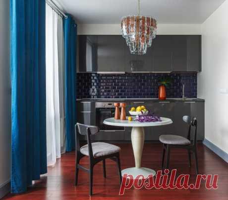 Вопрос: Серый цвет на кухне – с чем его сочетать