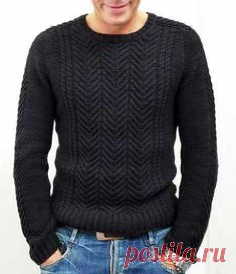 Men's Hand Knit Sweater 85B