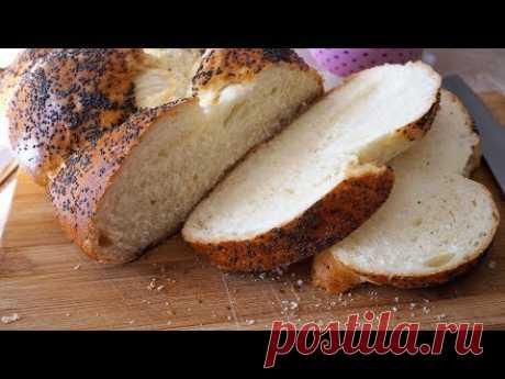 ПЛЕТЁНКА С МАКОМ ГОСТ/ Challah bread with poppy seeds