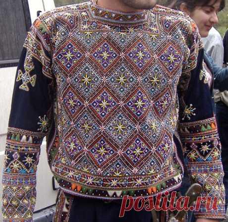 Хевсурский праздничный костюм • Форум о журнальных коллекциях Деагостини, Ашет, Eaglemoss