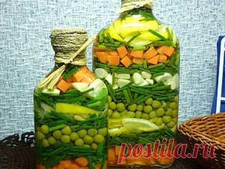 Бутылочка с овощами - Ярмарка Мастеров - ручная работа, handmade