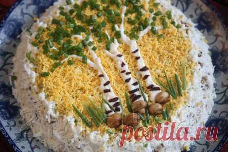 идея для подачи салатика