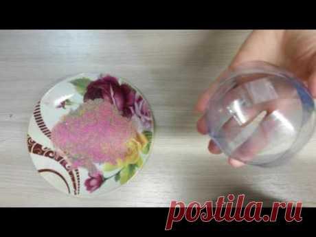 Шар из пластиковой бутылки!😊