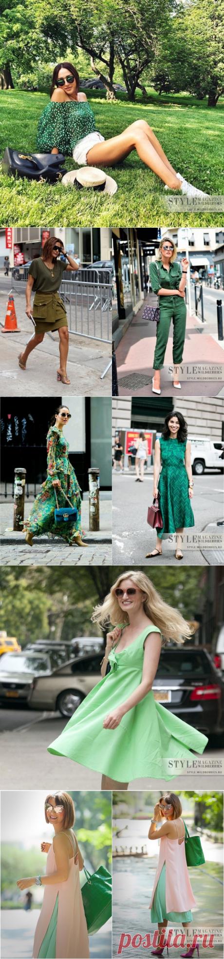 «Изумрудный город»: Как носить актуальные оттенки зеленого цвета в этом сезоне