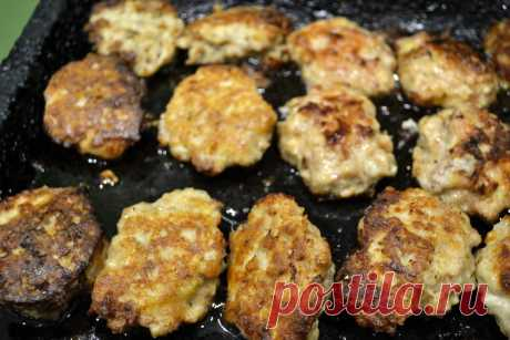 Экономные мясные котлеты - Кулинарный блог