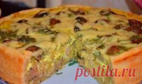 El pastel con la gallina y las patatas. ¡Umyali en 5 minutos la combinación Ideal! Testo potryasayusche tierno, pero al mismo tiempo que cruje, el relleno …...