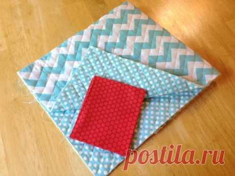 Как сшить коврик для швейной машинки — Мастер-классы на BurdaStyle.ru