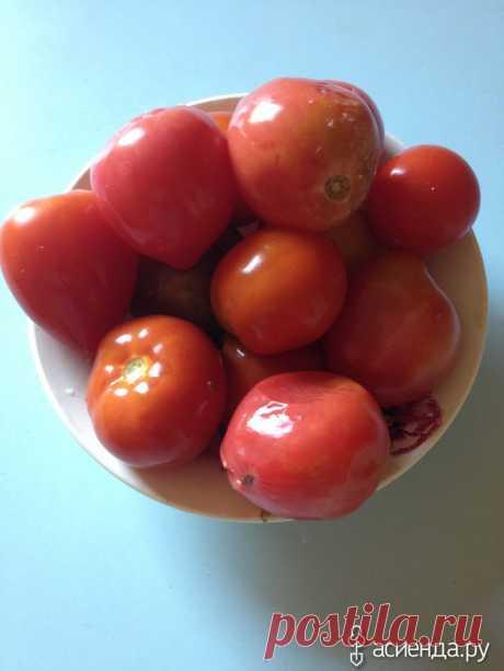 По просьбам девочек рецепт помидоров из бачка  Хочу рассказать, как мы делаем помидоры вот уже второй год. Есть у нас семидесятилитровый бачок из нержавейки. Идею засолить в нем помидоры подкинул мой муж, мама сказала рецепт, мы с сестрой подсует…
