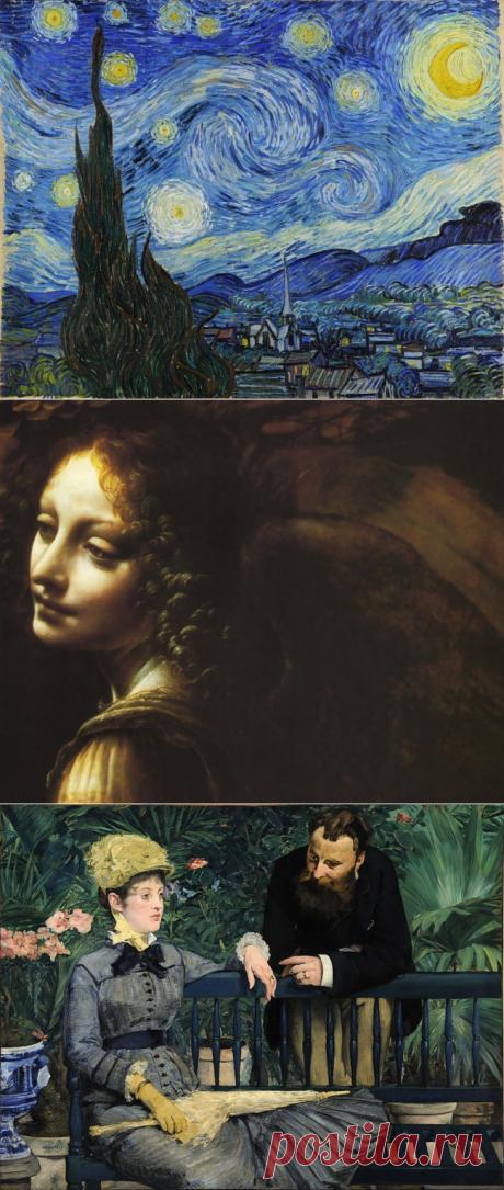 Онлайн прогулка по лучшим музеям мира