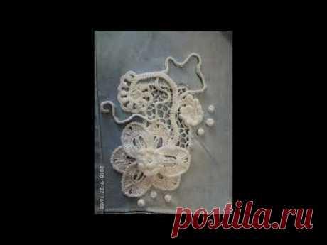 Комбинирование (соединение) ткани с ирландским кружевом