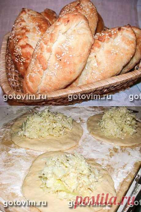 Пирожки с капустой. Фото-рецепт / Готовим.РУ