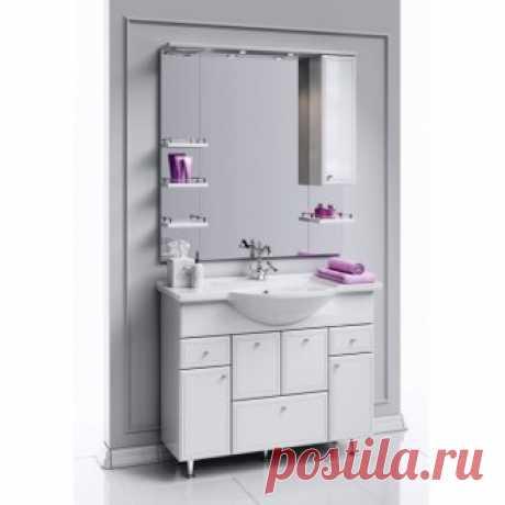 Мебель для ванной Aqwella Барселона Люкс 105 - San-Room