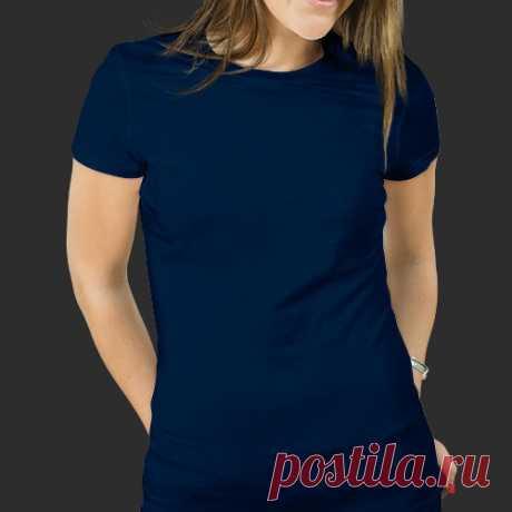 Выкройка женской футболкии размер 36-42 2 длины рукава и 2 варианта выреза горловины, источник указан внутри файла