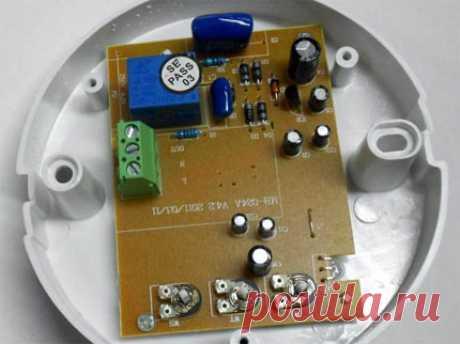 Схема подключения датчика движения с выключателем к лампочке: варианты установки