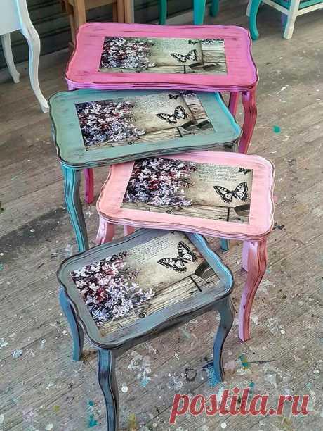 Как привести в порядок старую мебель своими руками — Сделай сам, идеи для творчества - DIY Ideas