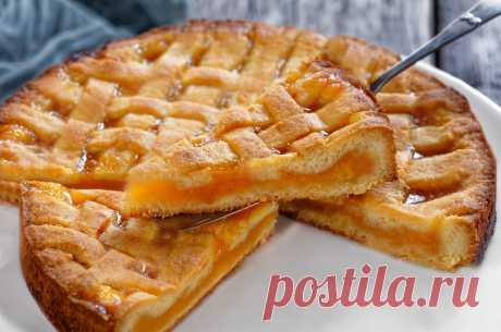 Абрикосовый пирог потрясающе вкусный очень легкий рецепт Выпечка с абрикосами потрясающая, тесто нежное, а начинка кисло-сладкая! Ингредиенты: абрикосы - 700г, мука пшеничная - 480г, масло ...