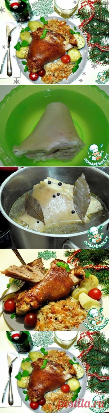 Рулька свиная запеченная – кулинарный рецепт