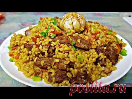 Плов из Булгура, цыганка готовит. Самый вкусный плов (ИМХО😀).Gipsy cuisine.
