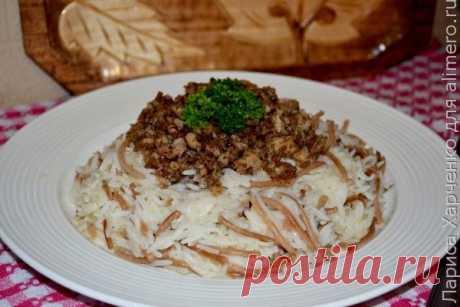 👌 Рис по-ливански, рецепты с фото Рис по-ливански полюбился мне уже давно – меня научила его готовить моя тетя, которая в свое время каким-то образом была связана с культурой и кухней ближнего востока. Вполне возмо...