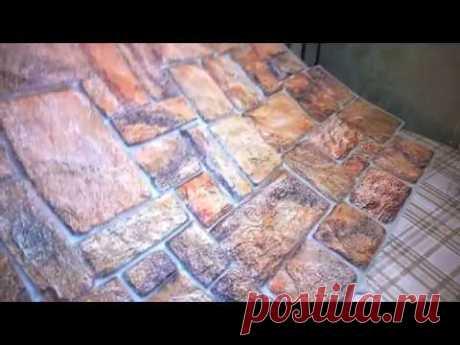 Новая каменная интерьерная кладка за копейки