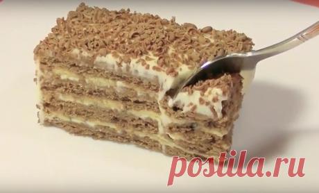 Торт без выпечки за 5 минут — простой и вкусный Этот тортик понравится всем, кто не любит возиться с тестом. Готовится очень...