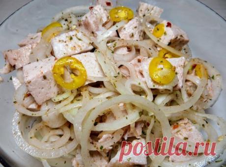 салат-шашлык / Мой праздничный рецепт