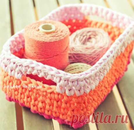 корзинки,шкатулки - Crochet Modnoe Vyazanie