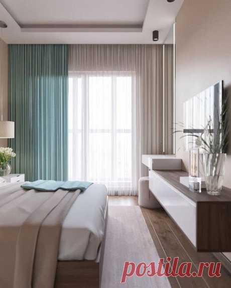 Спальня с ТВ-зоной