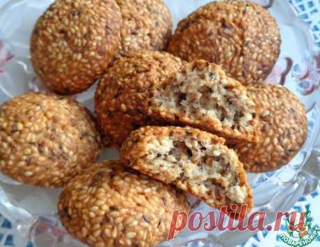 """Печенье """"Сим-сим"""" – кулинарный рецепт"""