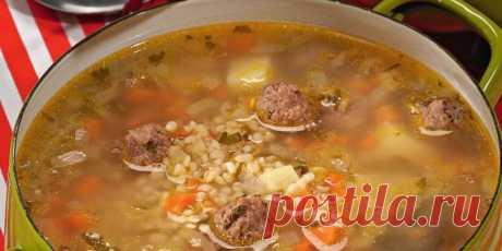 Суп с фрикадельками и булгуром : Супы : Кулинария : Subscribe.Ru