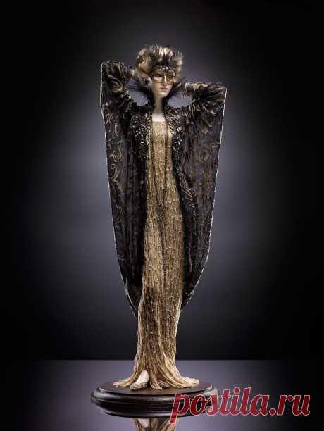 Тина.Авторская и фантазийная кукла Александры Кукиновой. Куклы созданы вручную с непревзойденным мастерством и качеством. Куклы изготавливаются из высококачественного фарфора в технике бисквит с тройной зачисткой поверхности..