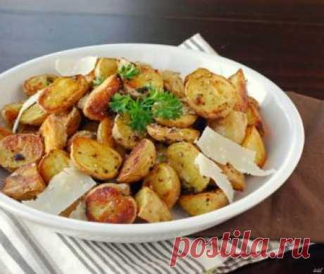 Картофель в мундире, запеченный в духовке - рецепт с фото на Повар.ру
