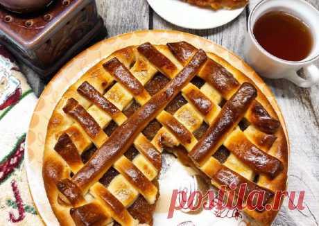 Пирог с яблочным повидлом - пошаговый рецепт с фото. Автор рецепта Надежда Махрова 🌳 . - Cookpad