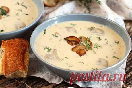 Домашний грибной крем-суп | Другая Кухня /Дневник фудблогера | Яндекс Дзен