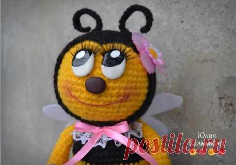 """Пчелка Мила """"Няшечка-стесняшечка"""" - МК по вязанию игрушек - Форум почитателей амигуруми (вязаной игрушки)"""