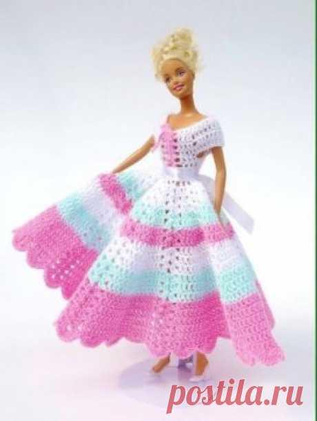 Красивая одежда для Барби - своими руками !