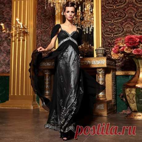 Платье  Арт № Sdk 17 Размер: S,  M,  L,  XL, 2XL Ткань: Шелк Сатин Жоржетт