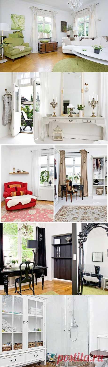 Красивый дом в Швеции | Фотографии красивых интерьеров