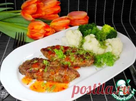 Постные овощные котлеты с шампиньонами - кулинарный рецепт
