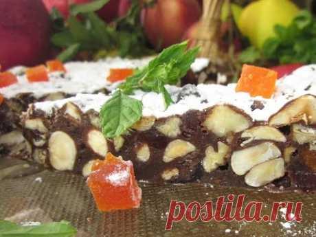 Рецепт- Шоколадный Панфорте