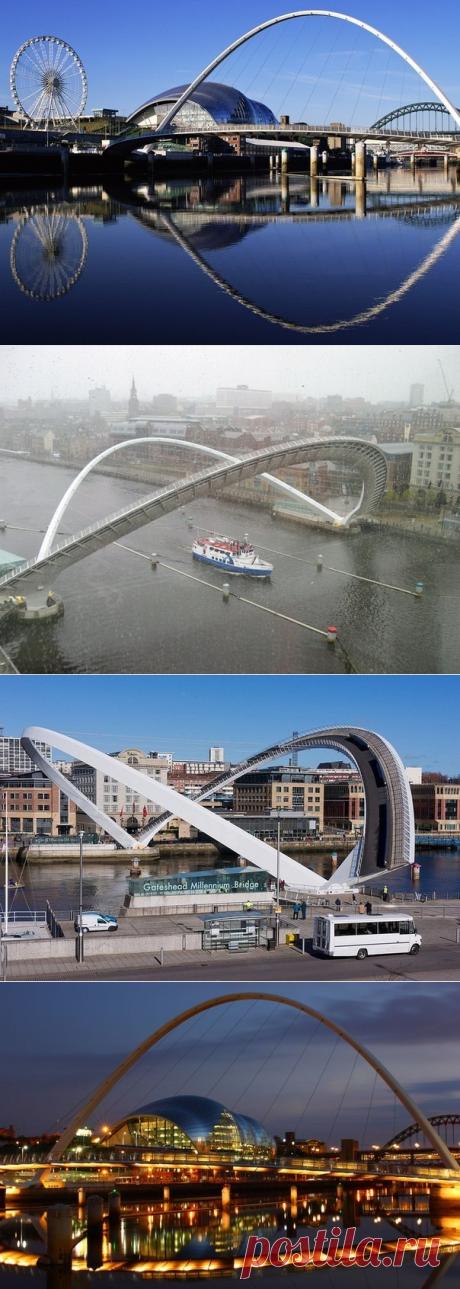 Наклоняемый мост в Англии - Путешествуем вместе