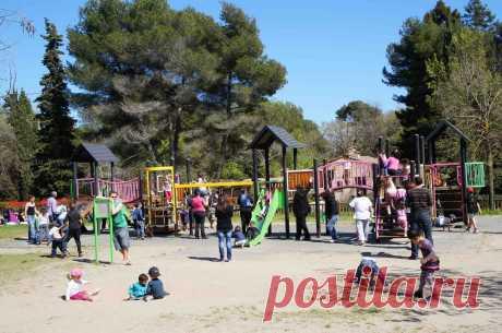 Детские площадки в Ницце