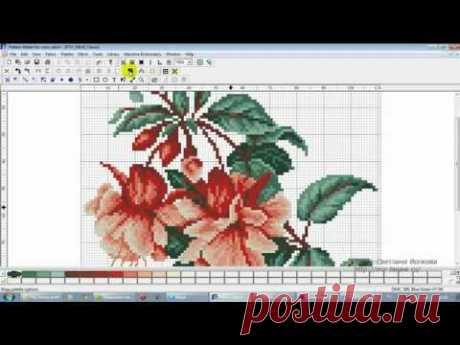 Pattern Maker v4 Pro — добавление палитры мулине ПНК им. Кирова