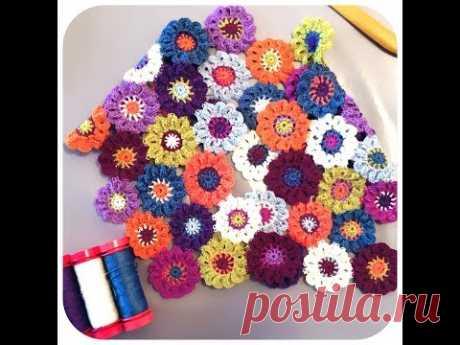 Tuto Crochet: la Fleur japonaise leçon1