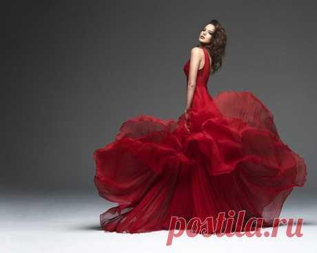 Красный цвет как отражение стиля