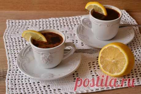 Пряный кофе с имбирем и кайенским перцем
