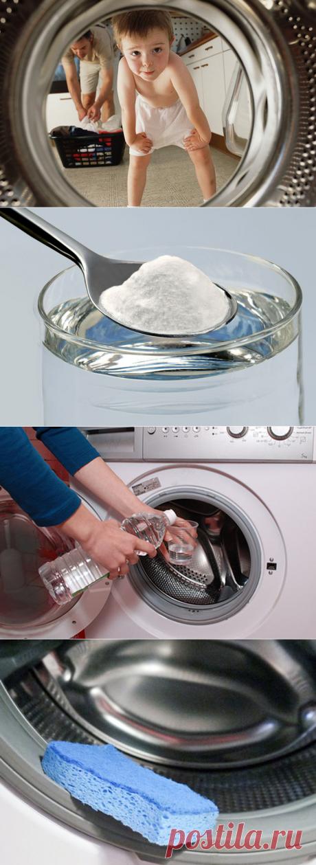 Рецепт, как очистить стиральную машинку — Мой дом