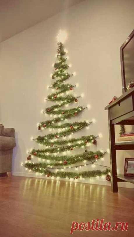 40 Christmas Lights Apartment Decorating Ideas - LivingMarch.com